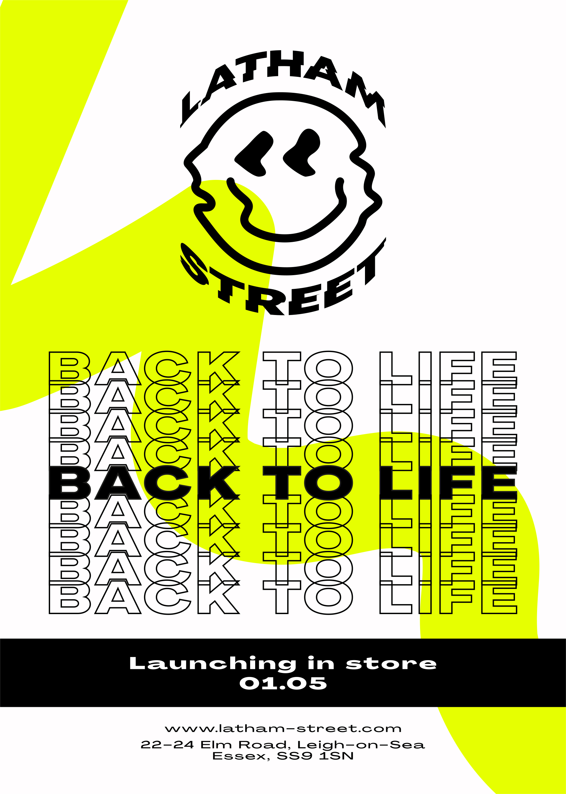 Back to Life Flyers April 2021