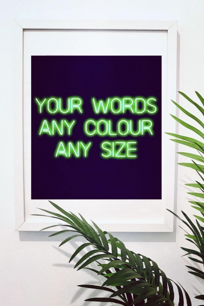 DESIGN YOUR OWN A3 PRINT