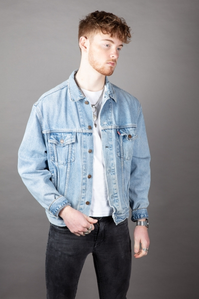 Levis Patched Up Jacket