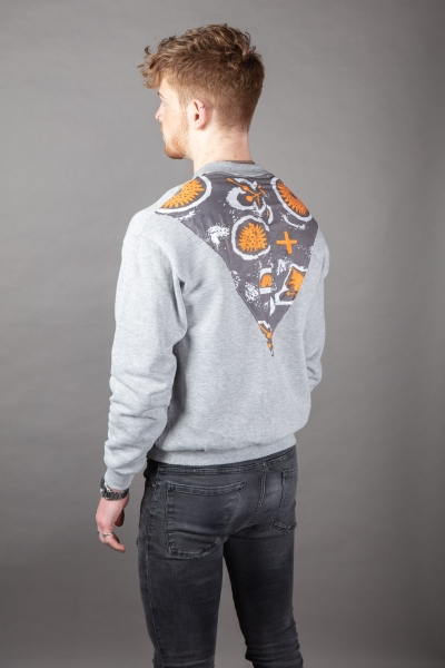 Back Patch Sweater